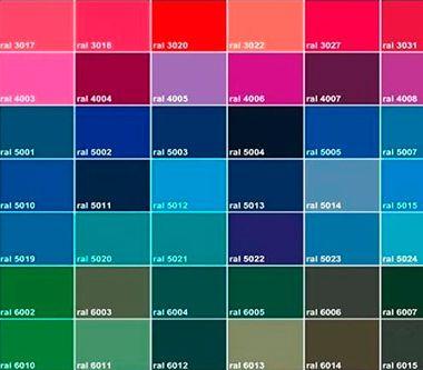 Palette couleur Thiebaut